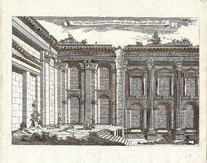 Antique-engraving-Temples-zu-Baalbeck-P-XIV