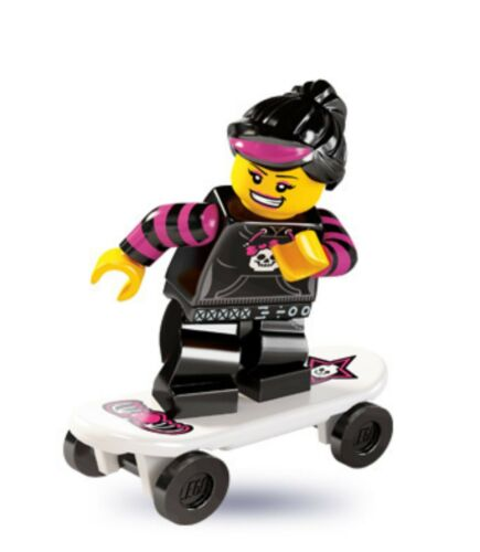 8827 #12 Skater Girl LEGO® Collectable Figures™ Series 6