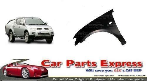 MITSUBISHI L200 FRONT WING PANEL PAINTED ANY COLOUR 2006 LEFT HAND N//S