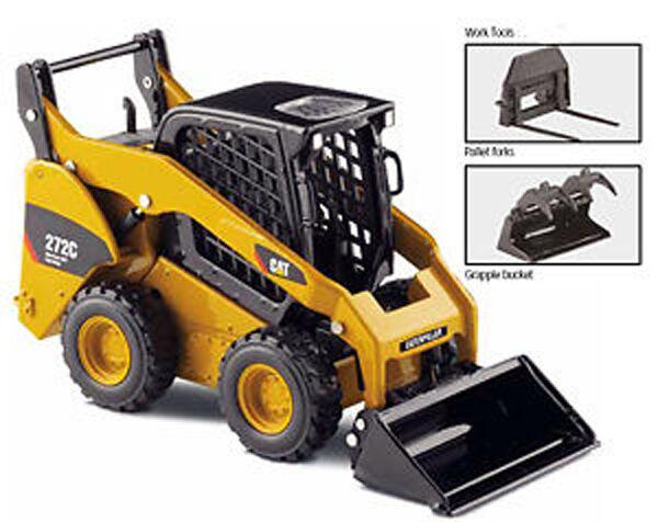 toma 64NEW Norscot 55167 Caterpillar Cat 272C Skid Steer Loader 1 1 1 32 Die-Cast Model  alto descuento