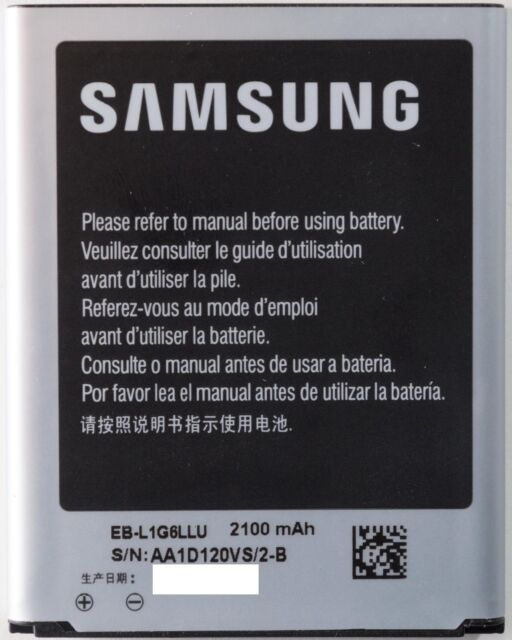 Original Samsung Galaxy S3 i9300 Akku Accu Batterie Battery EB-L1G6LLU