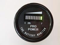 24 Volt Battery Indicator - Works W/ All Lead Acid Batteries, Exide, Trojan