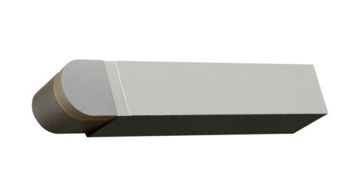 """5//16/"""" Full Convex Radius Tool Brazed Carbide Tip 5//8/"""" Square Shank Micro-100"""