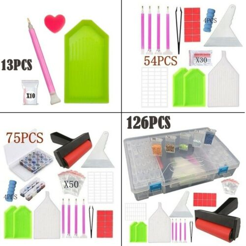 5D Diamond Painting Tools Kit Diamond Embroidery DIY Painting Accessories Box
