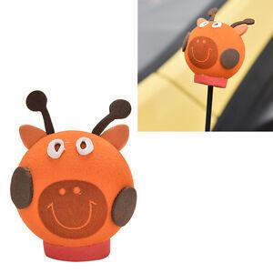 1-Pcs-Cool-Giraffe-Eva-Decorative-Car-Antenna-Topper-Balls-Orang-bgP-JK