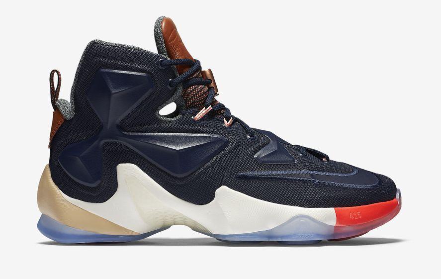 Nike Lebron James XIII 13 Limited Multicolor Obsidian Sail 823300 941 10 10.5 14