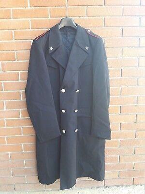 carabinieri cappotto in cordellino nero | eBay