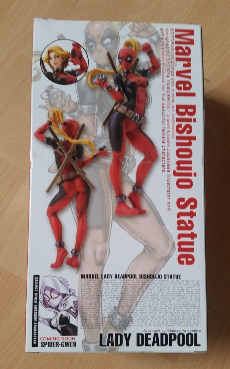 Lady fr deadpool statuette bishoujo marvel kotobukiya