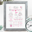 Personalised-Birth-Print-for-Baby-Boy-Girl-New-Baby-Gift-or-Christening-Present thumbnail 86