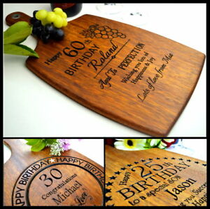 Personalised-Engraved-Birthday-18th-21st-30th-40th-50th-60th-Gift-Cutting-Board