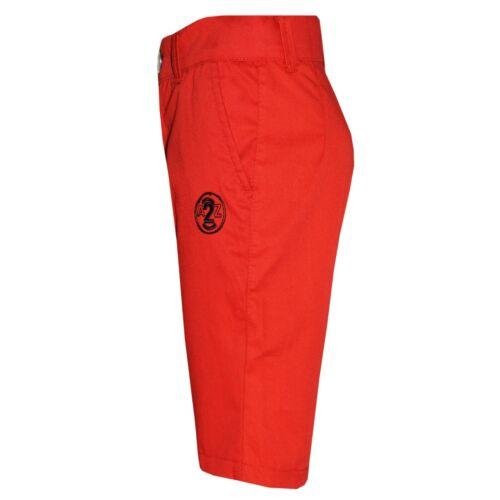 Kids Boys Shorts Red Chino Shorts Summer Knee Length Half Pant New Age 2-13 Year