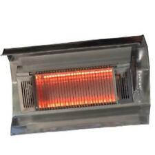 Mojave Sun Stainless Steel Wall Mounted Infrared Patio Heater Fire