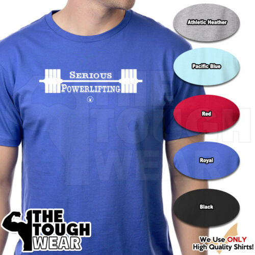 SERIOUS POWERLIFTING Gym Rabbit TShirt 6 colors Workout Bodybuilding Lift D241