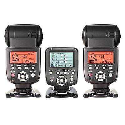 Yongnuo YN560TX LCD Wireless Flash Controller+2pcs YN560 IV Flash kit For Canon