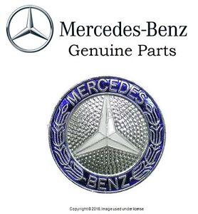 Mercedes w124 w201 grill badge emblem genuine oem insignia for Mercedes benz insignia