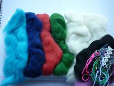 Felt making Kit for absolute beginners merino wool tops