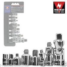 8Pc Adaptor & Universal-Joint Set, Neiko Tools, New