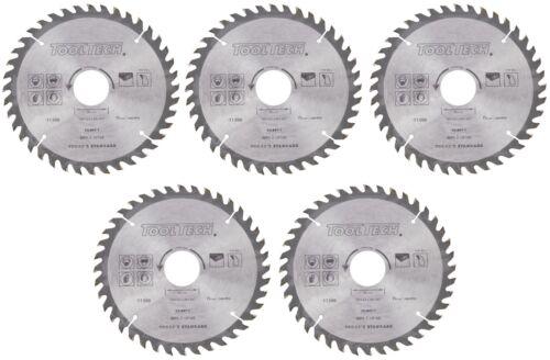 5x Kreissägeblatt 160 x 30mm Holz HM Sägeblatt 40Z Reduzierringe 16-20-25,4mm