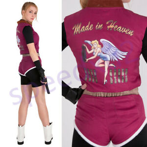 Resident Evil 2 Claire Redfield Cosplay Costume Fullset Outfit Ebay