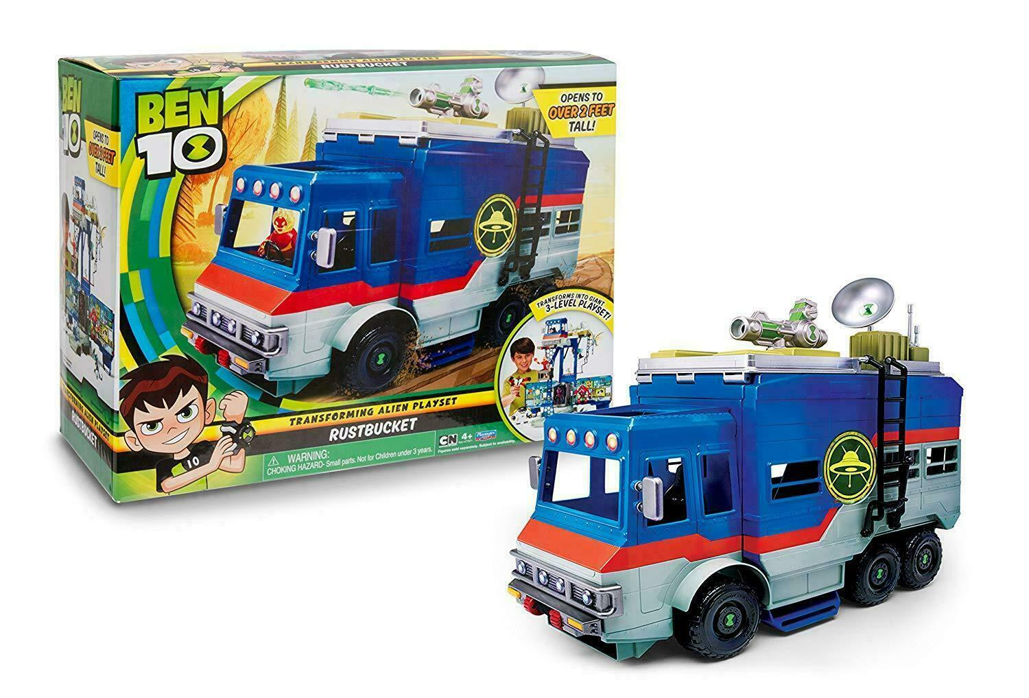BEN TEN VEICOLO PLAYSET  RUSTBUCKET