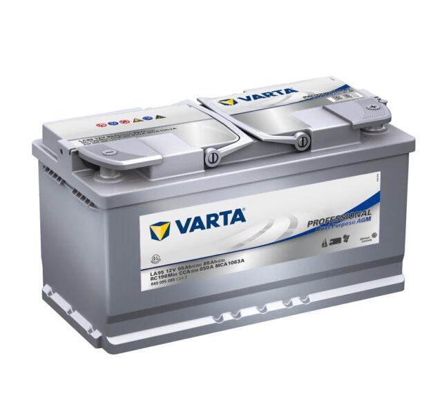 Varta Professional Dual Purpose LA95 AGM 95Ah Batterie 840095085 *NEU*