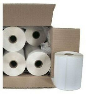 Case-10-Roll-Direct-Thermal-4x6-Adhesive-Shipping-Label-Zebra-NEW