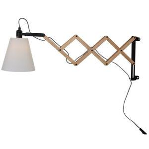 Steinhauer 8852BE Scherenwandleuchte Wandlampe Leuchte Lampe ausziehbar 80cm E14