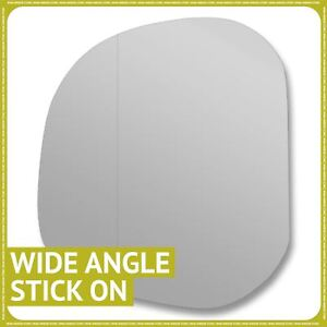 plate Left side Wide Angle Wing mirror glass for  L400 Delica 1995-2005 Heated