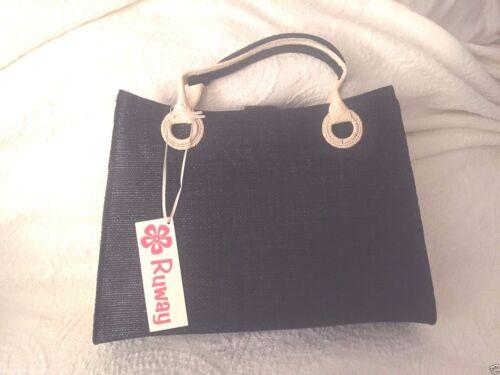 Ruway Handtasche Strpalm Cruise Neue Black Handgemachte Bag Wear Tote Organic RZwxTq5nB
