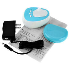 Automatic Ultrasonic Contact Lens Cleaner Daily Care Fast Cleaning Gadget Blue