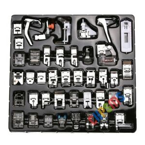 42-PCS-Presser-FEET-fits-Singer-Brother-Janome-Elna-Kenmore-low-shank-machines