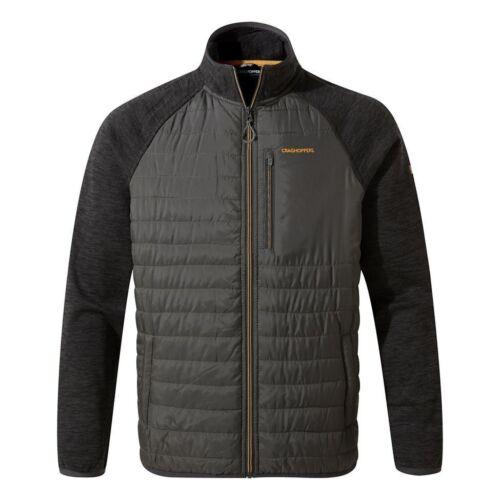 RRP £70 Black Pepper Craghoppers Men/'s Monto Hybrid Jacket