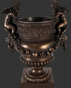 Angels and Lion Urn