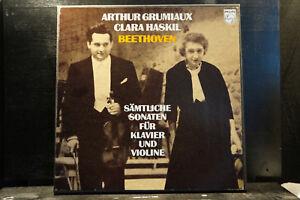 L-v-Beethoven-Sonates-Grumiaux-Haskil-4-LP-Box