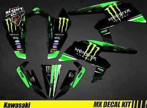 Kit-Deco-Quad-pour-Atv-Decal-Kit-for-Kawasaki-KFX-450-R-Monster