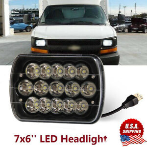 """2×5/""""x7/""""LED Headlight Sealed Beam fit for Chevy Express Cargo Van 1500 2500 3500"""