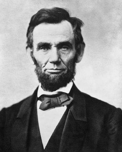 President Abraham Lincoln 1863 8x10 Photo L-138