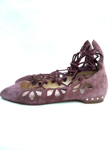 Zara Scarpe Con 5 Ballerine Lacci Uk 1344 Basse Taglia Ref 4 In Pelle 101 qXBwxrX
