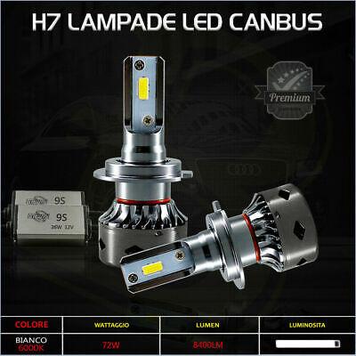 Coppia lampade h7 led 72w bianco 8400lm anabbaglianti audi for Lampadine h7 led