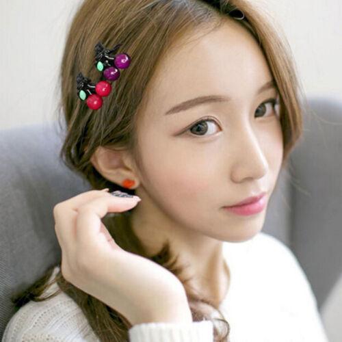 Hair Clips for Women Girls  Cherry  Hair Claws Fashion Hair Accessor I2