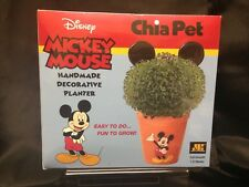 Disney Mickey Mouse Chia Pet Decorative Planter NIB