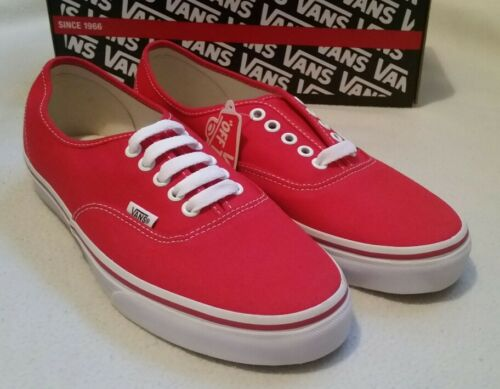 7 5 Classic Uk Low Vans Bombas Top Authentic deporte de Zapatillas Canvas Red Zapatillas 7aOwFxaq