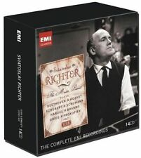 SVIATOSLAV RICHTER: THE MASTER PIANIST [THE COMPLETE EMI RECORDINGS] [BOX SET] N