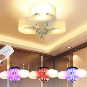 Das Bild Wird Geladen LED Kristall Deckenleuchte E27 Deckenlampe  Wandlampe Designer Wohnzimmer