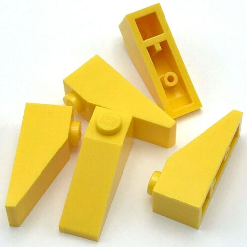 Lego 5 New Yellow Slope 33 3 x 1 Sloped Pieces