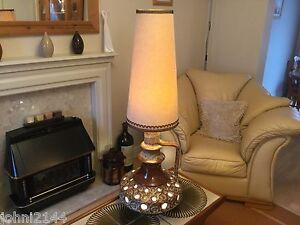 Image Is Loading Stein Keramic Vintage Lamp Retro Fat Lava Lamp