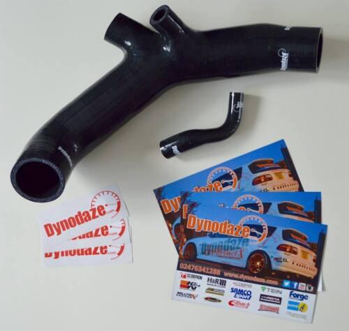 Dynodaze Performance Mitsubishi Colt CZT Ralliart Silicone Tuyau D/'AspirAtion Kit Noir