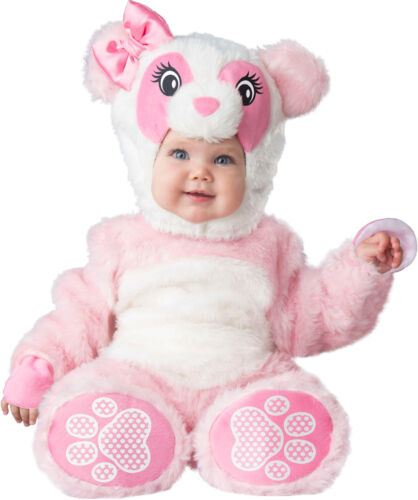 Lil Pink Panda Bear Child Baby Girls Infant Toddler Costume NEW
