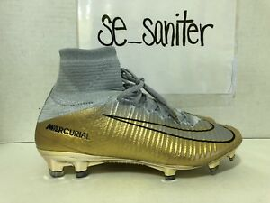6035718219dd Men's Nike Mercurial Superfly V CR7 QUINTO TRIUNFO GOLD AR0998-009 ...