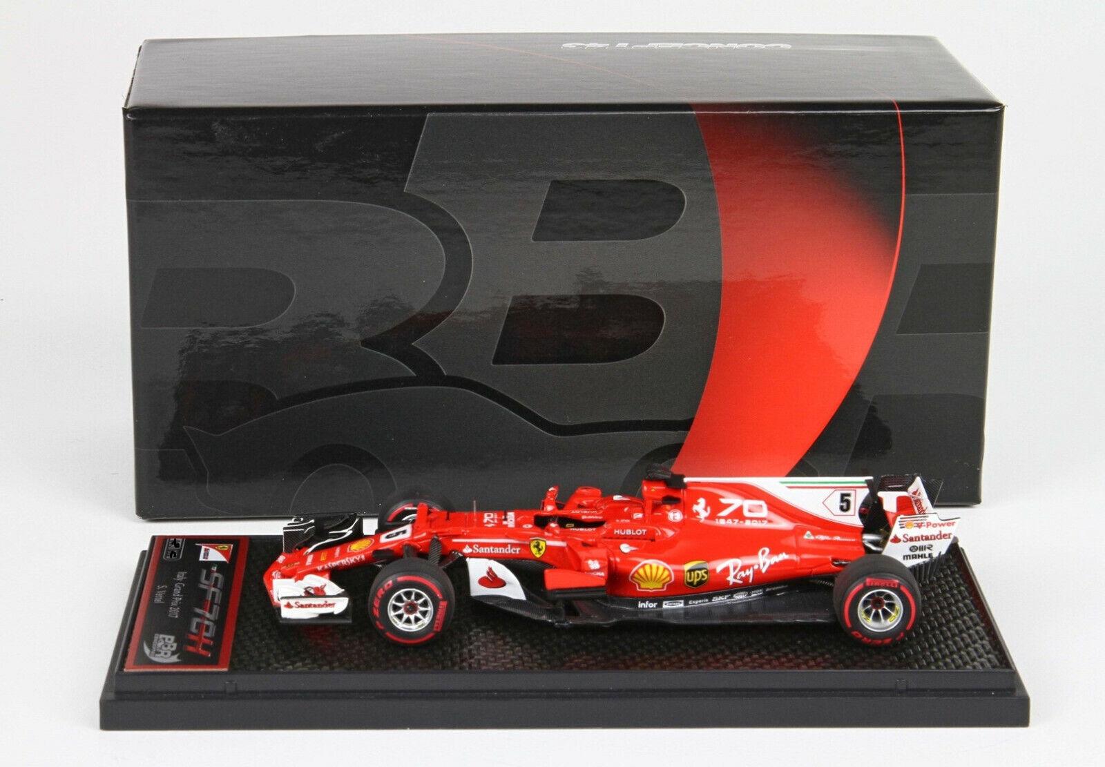 FERRARI SF70-H  GP  2017 Vettel 1 43  lim.ed. 230 pcs BBRC203A BBR